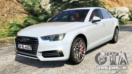 Audi A4 2017 v1.1 pour GTA 5