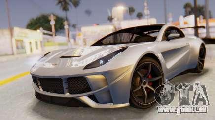 GTA 5 Dewbauchee Seven 70 SA Lights für GTA San Andreas