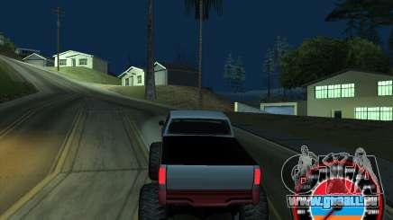 Le compteur de vitesse dans le style du drapeau arménien pour GTA San Andreas