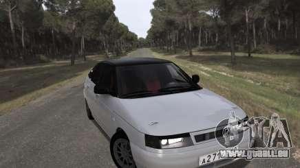 VAZ 2112 GVR pour GTA San Andreas