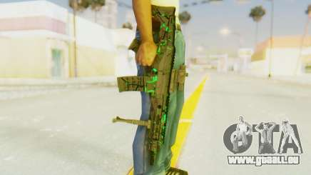 ACR CQB Magma Green für GTA San Andreas