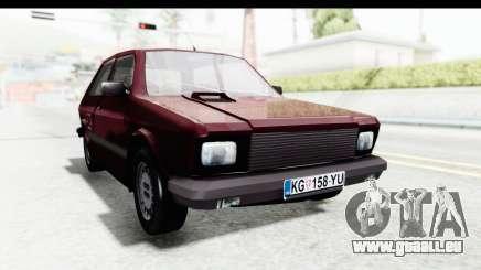 Zastava Yugo Koral 55 1996 pour GTA San Andreas