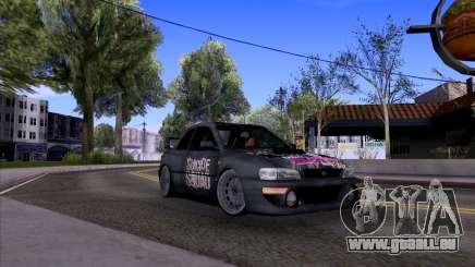 Subaru impreza 22B (SUICIDE SQUAD) für GTA San Andreas
