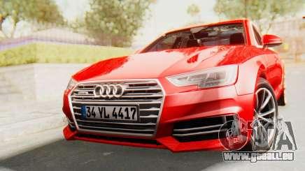 Audi A4 2017 IVF pour GTA San Andreas