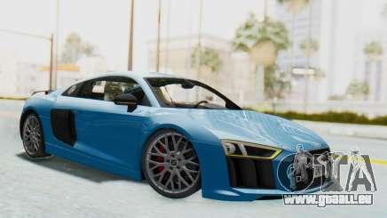 Audi R8 V10 2017 v2.0 pour GTA San Andreas