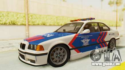BMW M3 E36 Police Indonesia für GTA San Andreas