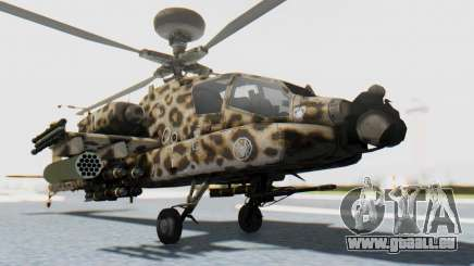 AH-64 Apache Leopard für GTA San Andreas