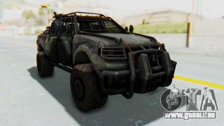 Toyota Hilux Technical für GTA San Andreas