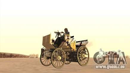 Mercedes-Benz Daimler 1886 für GTA San Andreas