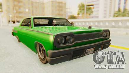 GTA 5 Declasse Voodoo SA Lights für GTA San Andreas