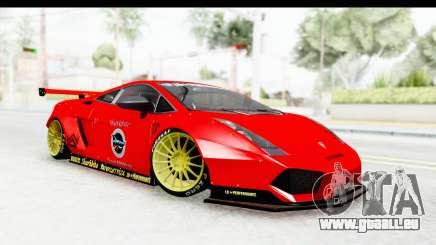 Lamborghini Gallardo Superleggera 2007 pour GTA San Andreas