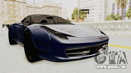 Ferrari 458 VPM Crew pour GTA San Andreas