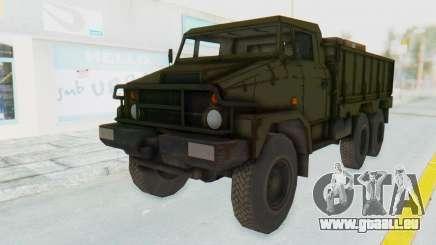 MGSV Phantom Pain BOAR 53CT Truck für GTA San Andreas