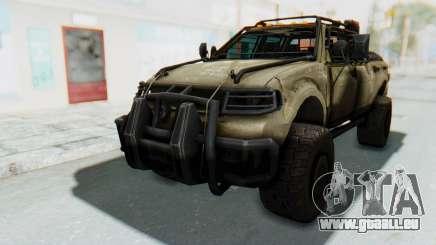 Toyota Hilux Technical Desert für GTA San Andreas