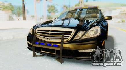 Mercedes-Benz E63 German Police Blue für GTA San Andreas