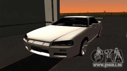 Nissan Skyline ER34 GT-R pour GTA San Andreas