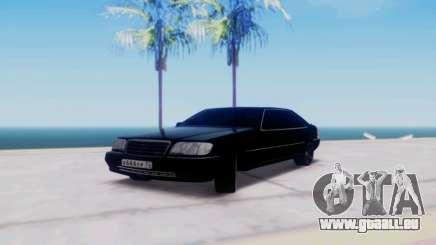 Mercedes-Benz MB W140 1999 für GTA San Andreas