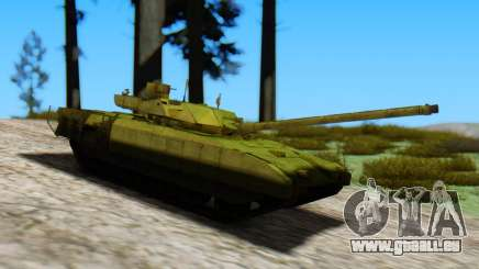 T-14 Armata Green pour GTA San Andreas