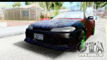 Nissan Silvia S15 Galaxy Drift v2.1 für GTA San Andreas