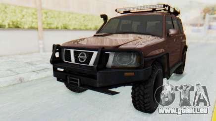 Nissan Patrol Y61 Off Road pour GTA San Andreas