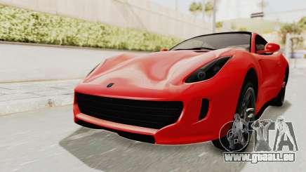 GTA 5 Grotti Bestia GTS v2 IVF pour GTA San Andreas