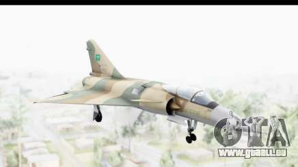 Dassault Mirage 4000 Royal Saudi Air Force pour GTA San Andreas