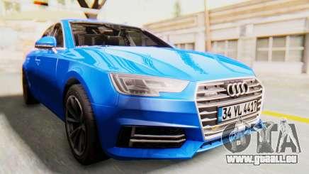 Audi A4 2017 HQLM pour GTA San Andreas