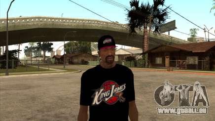 King James T-Shirt pour GTA San Andreas