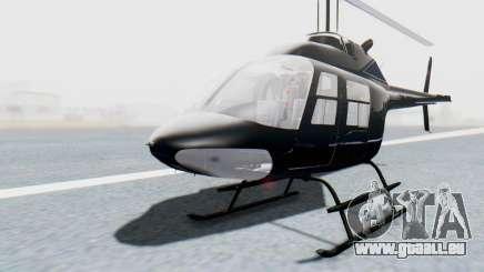 Bell 206B-III Jet Ranger Policja pour GTA San Andreas
