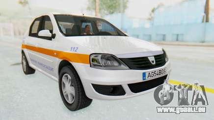 Dacia Logan Facelift Ambulanta für GTA San Andreas