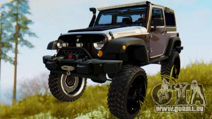 Jeep Wrangler Rubicon 2012 für GTA San Andreas