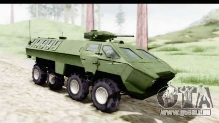 Lazar Serbian Armored Vehicle für GTA San Andreas