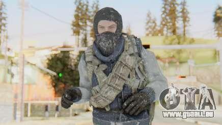 COD BO Bruce Harris Winter für GTA San Andreas