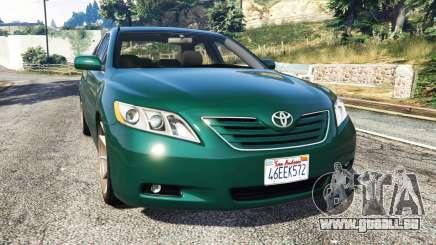 Toyota Camry V40 2008 [stock] pour GTA 5