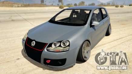Volskwagen Golf MkV Stance pour GTA 5