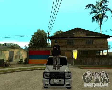 Armenian Skin pour GTA San Andreas cinquième écran