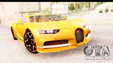 Bugatti Chiron 2017 v2.0 Updated für GTA San Andreas