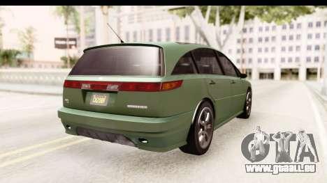 GTA 5 (4) Dinka Perennial pour GTA San Andreas vue de droite