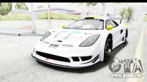GTA 5 Progen Tyrus für GTA San Andreas Unteransicht