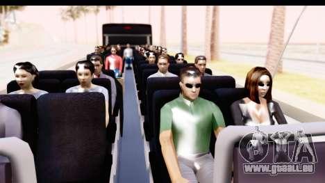 Bus Tours Dic Megadic 4x2 ETCE pour GTA San Andreas vue arrière