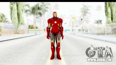 Marvel Heroes - Iron Man Mk7 pour GTA San Andreas deuxième écran