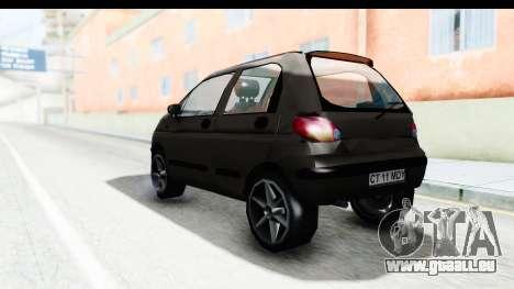 Daewoo Matiz für GTA San Andreas linke Ansicht