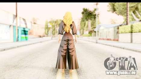 Bleach - Rangiku pour GTA San Andreas troisième écran