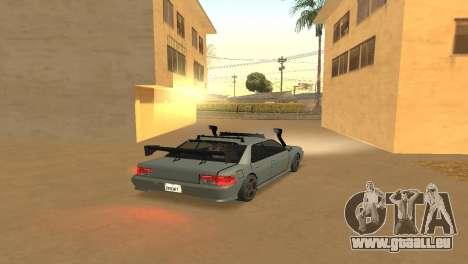 Super Sultan pour GTA San Andreas laissé vue