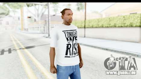 Skillet T-Shirt pour GTA San Andreas deuxième écran