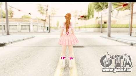 DoA 5 - Ultimate Kasumi Pop Idol Team D für GTA San Andreas dritten Screenshot