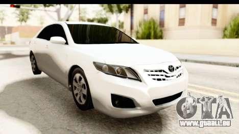 Toyota Camry GL 2011 pour GTA San Andreas vue de droite
