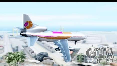 Lockheed L-1011-100 TriStar Hawaiian Airlines pour GTA San Andreas laissé vue