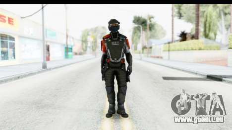 Homefront The Revolution - KPA v4 Captain pour GTA San Andreas deuxième écran