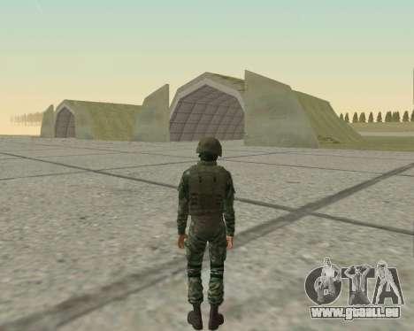 Pak-Kämpfer airborne für GTA San Andreas neunten Screenshot